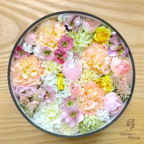 Mother's Day gift Box arrangement (Pink) 【A11】