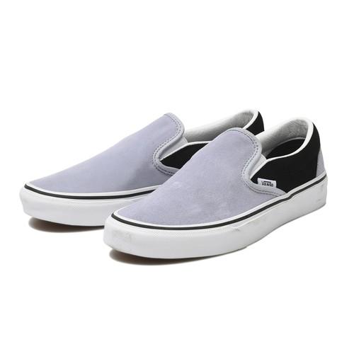 VANS (ヴァンズ) / CLASSIC SLIP-ON (SUEDE) -ZEN BLUE/BLACK-