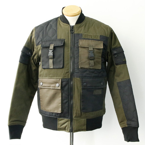【STAPLE】 TACTICAL BOMBER JACKET