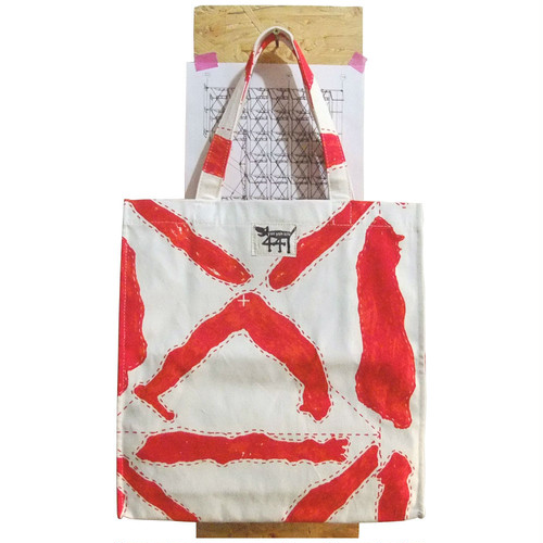 tote bag / large / scaffolding#03