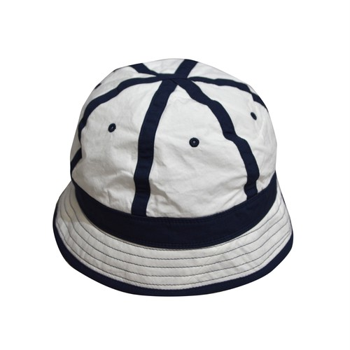 NOROLL / SOFTEN HAT -WHITExNAVY-
