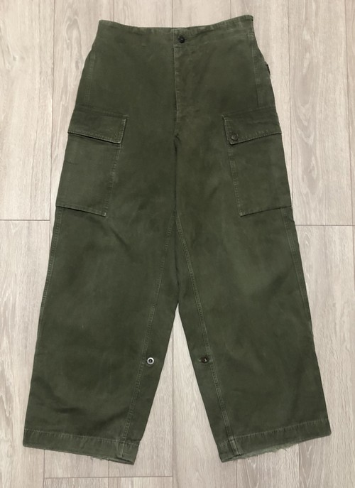1958s NETHERLANDS ARMY CARGO TROUSERS