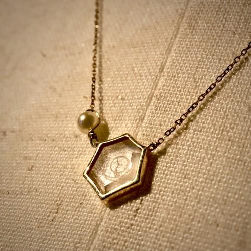 ∞BISOWA hexagon ネックレス∞