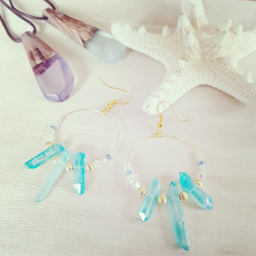 crystal accessory(blue)