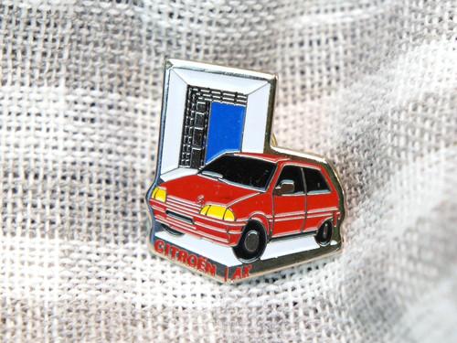 【Vintage品】Pinバッジ CITROEN AX