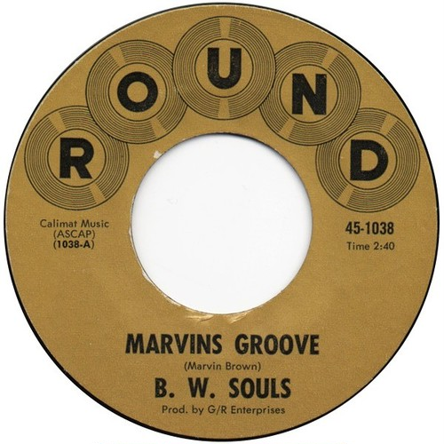 B. W. Souls ‎– Marvins Groove / Generated Love
