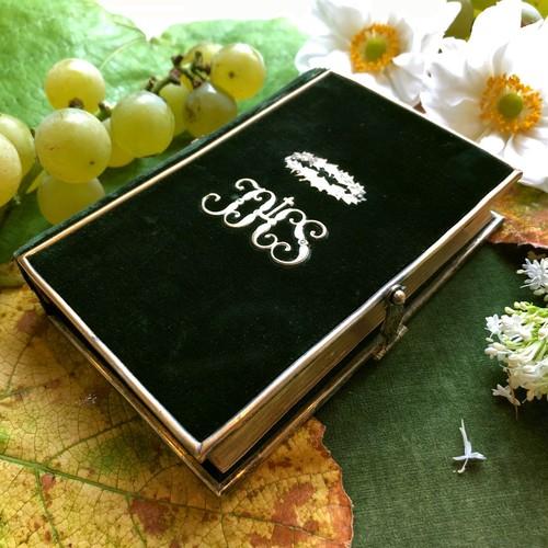 深緑の祈祷書
