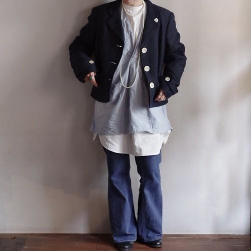 Short length Tailored Jacket / TALBOTS / Made in ITALY /ショート丈 テーラード ジャケット