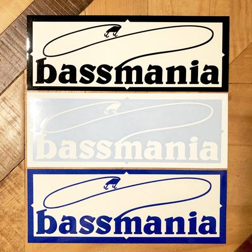 bassmania logo カッティング シート
