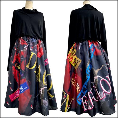 ドラァグクイーン  スカート