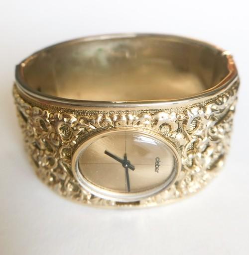 """Clebar"" swiss watch bracelet[h-113] ヴィンテージブレスレット"