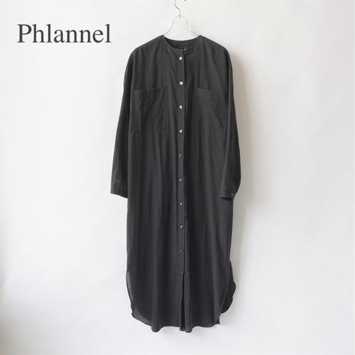 Phlannel/フランネル・Cotton Silk Khadi Shirt Dress
