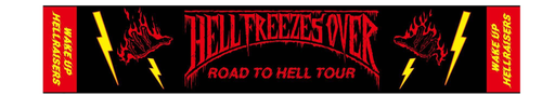 ROAD TO HELL TOUR Muffler towel