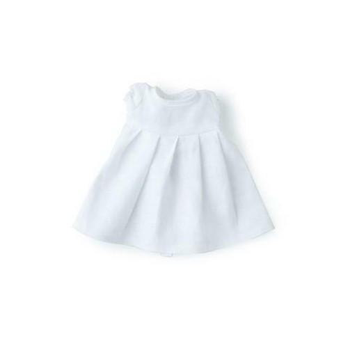 WHITE LINEN DRESS|ぬいぐるみと人形の服