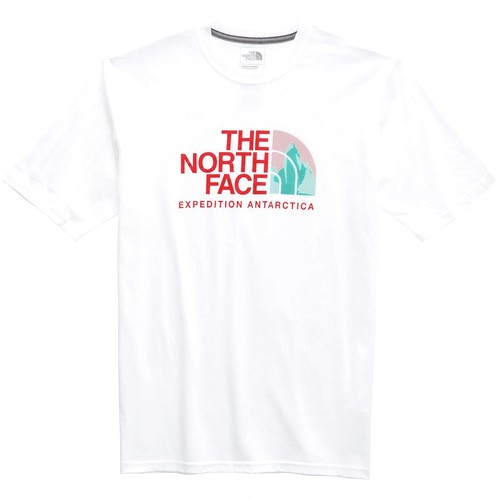 南極大陸★The North Face Men's Antarctica Collectors Half Dome T-shirt