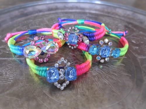 vintage bracelet bijou micanga <MCB-RB4/7>