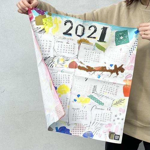 2021年 カレンダークロス / 2021 handkerchief
