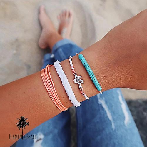 【FlamingoBeach】 bracelet set ブレスレット 64101