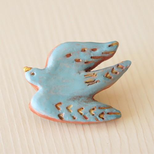 土のサーカス(鳥ブルー)