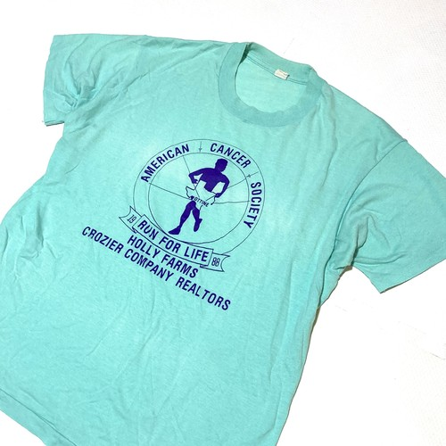 unknown : 80's runner print tee (MADE IN USA)