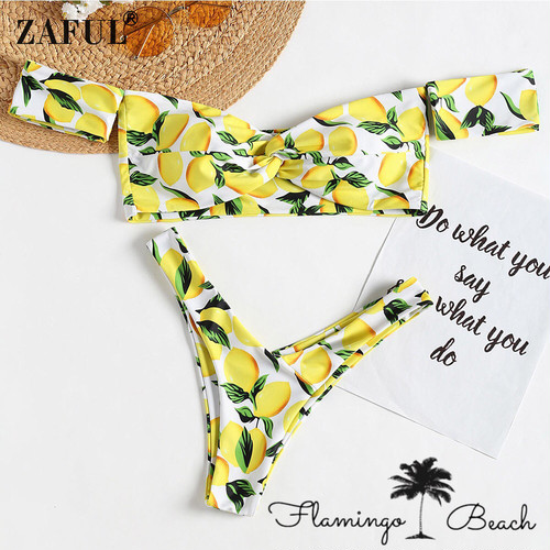 【FlamingoBeach】lemon bikini