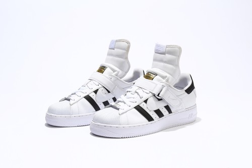 Incorporation Code Sneakers「NIKE AIR FORCE 1 MID × adidas SUPERSTAR 」 【 受注生産 】