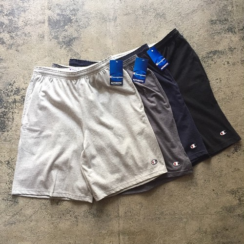 US企画★Champion Short Jersey Pants