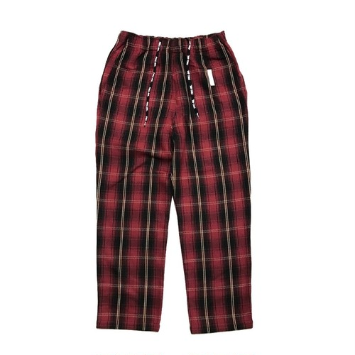 FULL-BK - CLUBBING PAJAMA PANTS (RED) -