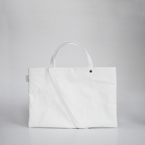 【N/no × E/zel.】SOME WAY LIGHT LESSON BAG P4(A4)_PP/WHITE