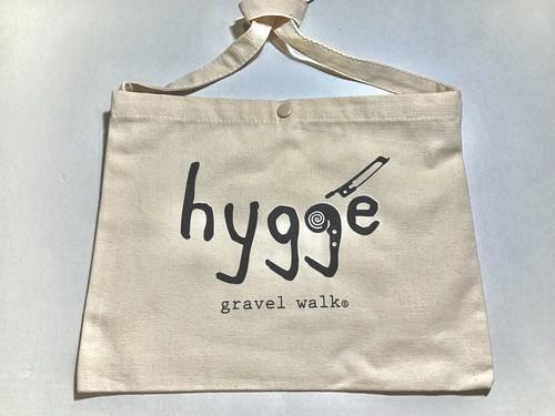 【ロゴ大】サコッシュバッグ Hygge ナチュラル