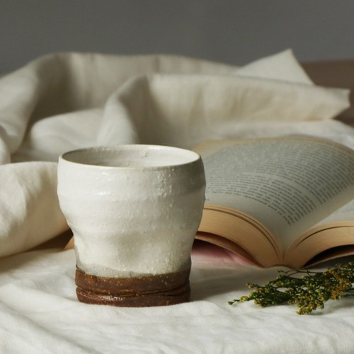 陶器 でこぼこカップ【MM-0017_MP】