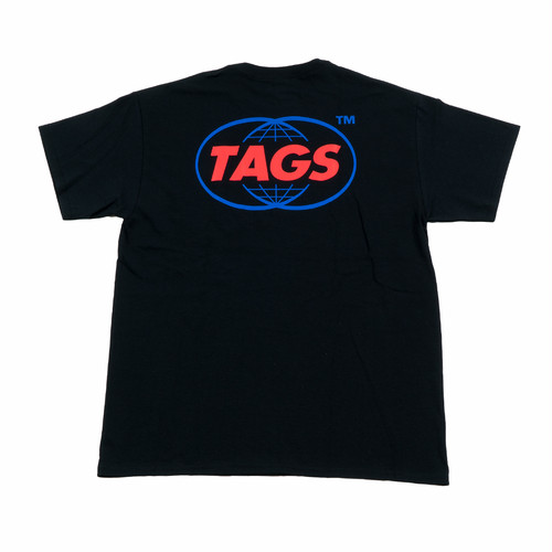 TAGS™ CC Pocket Tee Black Lsize