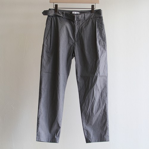 STILL BY HAND  【 mens 】cotton/pe belted pants