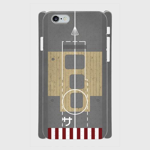 大日本帝国海軍空母「蒼龍」(識別文字あり) iPhoneケース