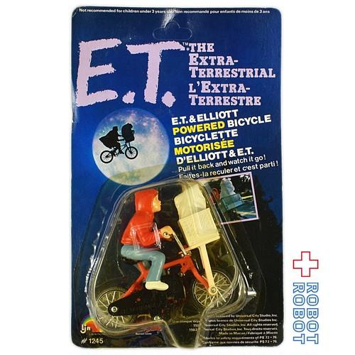 E.T.とエリオットの自転車フィギュア 未開封