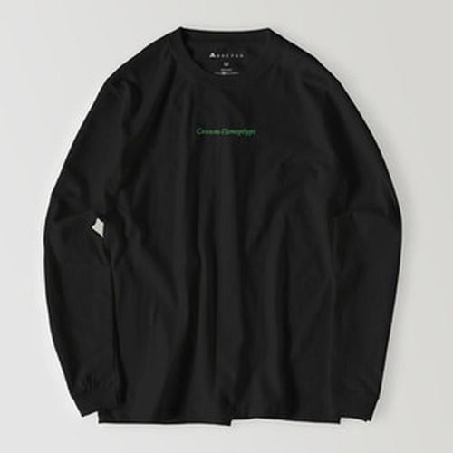 サンクトペテルブルク - 緑(ロングスリーブ:ヘビーウェイト:黒)