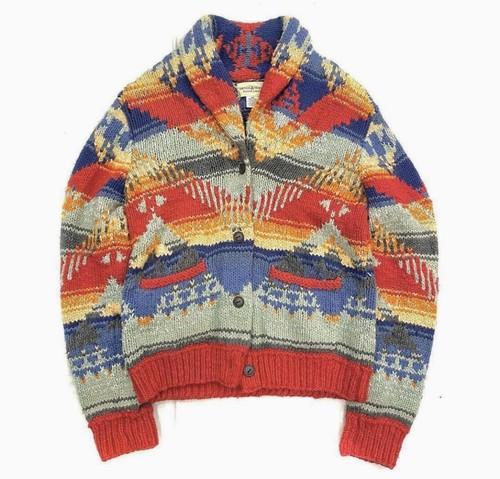 RALPH LAUREN denim&supply native knit jacket
