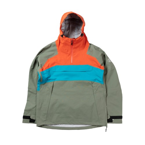 2021unfudge snow wear // SMOKE ANORAK // ARMY