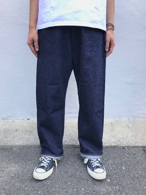 【ordinary fits】OM-P108OW / FARMER 5P DENIM one wash