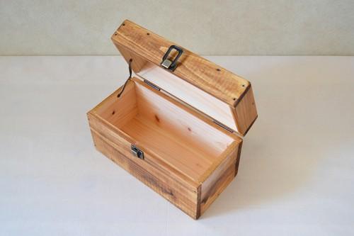 0310≪木製マスクケース≫国産ひのきのトランクBOX(全3色)Mサイズ