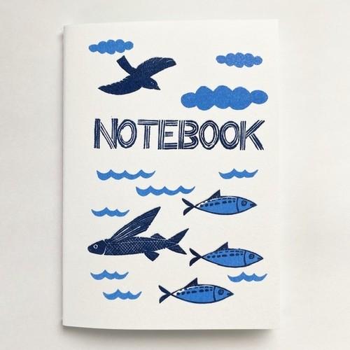 notebook (ocean)(A6)