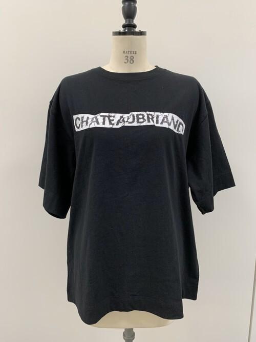 【2020年5月新作】CHATEAUBRIAND BOX LOGO Tシャツ黒【送料込】