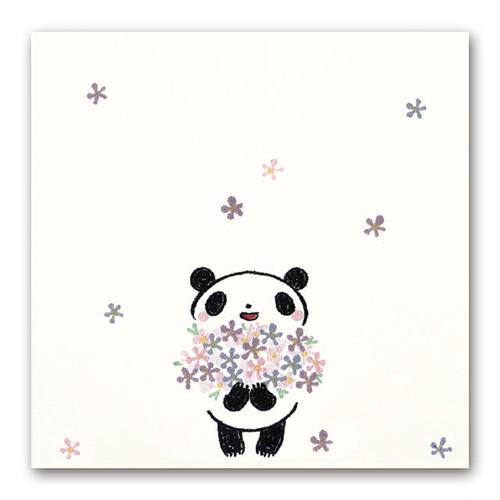 シイング 吹出しぽち 花束パンダ
