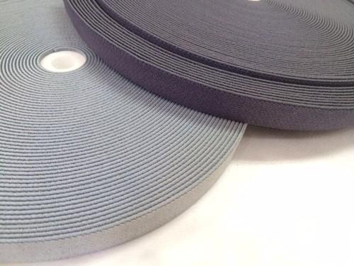 ゴムテープ 20mm幅 グレー 1m