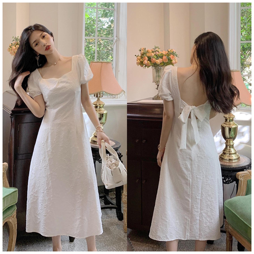 【dress】人気を独占中優しい雰囲気リボンデートワンピース一目惚れ人気デザイン