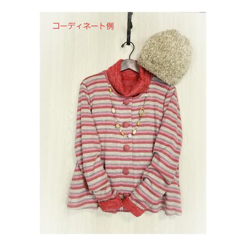 Chiarettaユニバーサルファッション【ボーダー・カーディガン】