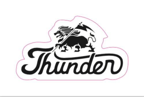 THUNDER ORIGINAL STICKER 70×40mm