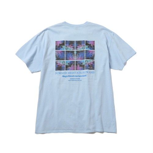 MAGIC STICK Meditation T-Shirts CALI BLUE