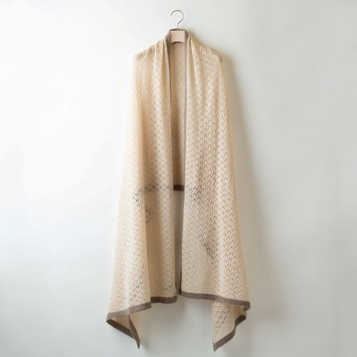 LACY STOLE (Beige) PCA0008