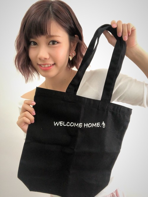 Welcome home トートバッグ